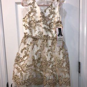 Rare Editions Dresses - NWT RARE EDITION HOLIDAY DRESS &SHRUG .